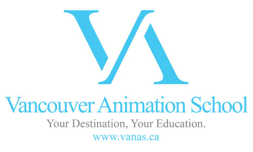 Logo for Vancouver Animation School
